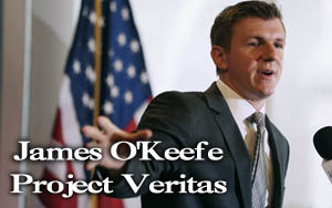 james o'keefe helping to get Trump elected
