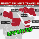 travel ban map